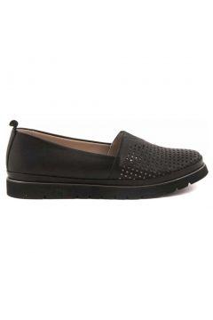 Tanca Hakiki Deri Siyah Kadın Casual Ayakkabı(110973649)