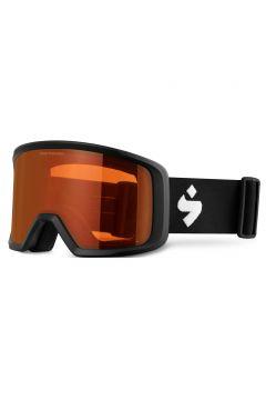 Masque de snow Sweet Firewall - Matte Black ~ Orange(111332070)