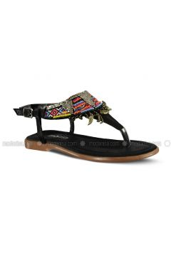 Black - Sandal - Sandal - Marjin(110337936)