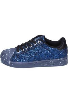 Chaussures enfant Solo Soprani sneakers bleu glitter BT295(115442780)