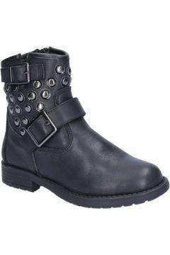 Bottines enfant Didiblu bottines noir cuir clous AD981(115394082)