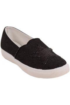 Chaussures Primtex Baskets en jean motif étoile paillettes forme slip on(88678918)