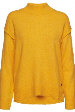 Ls Tn Laura Sweater Rollkragenpullover Poloshirt Gelb GUESS JEANS(114152913)