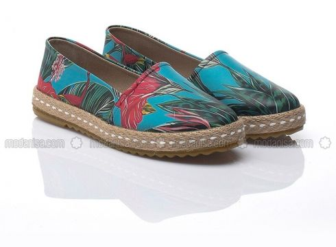 Blue - Multi - Casual - Shoes - Just Shoes(100919830)
