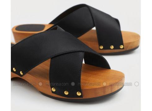 Black - Sandal - Sandal - Violeta by Mango(100924315)