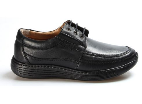 FAST STEP Hakiki Deri SİYAH Erkek Sneaker(110944040)
