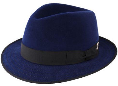 Chapeau Flechet Chapeau feutre imperméable Florentin bleu(88615936)