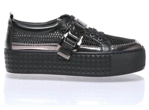 WOMENJ Siyah Kadın Ayakkabı(107876324)