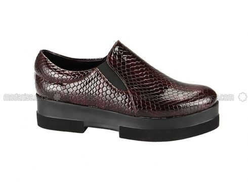 Maroon - Casual - Shoes - Zenneshoes(100926862)