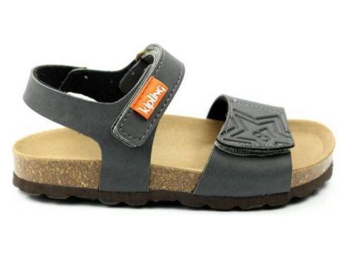Sandalen Kipling JONGENS sandaal KRIS 1. grijs(79917266)