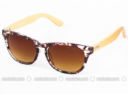 Brown - Sunglasses - SİLVİO MONETTİ(100924822)