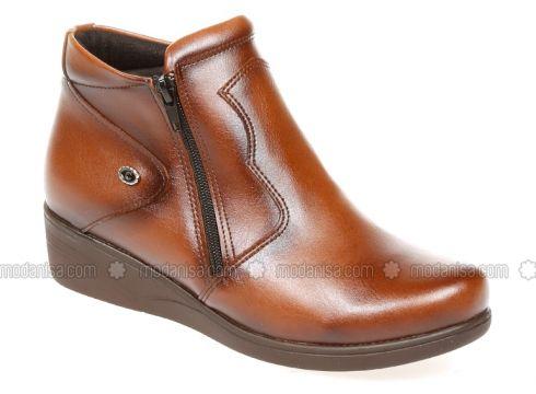 Tan - Boot - Boots - Pembe Potin(110313741)