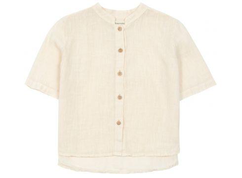 Hemd aus Baumwolle und Leinen(113870455)