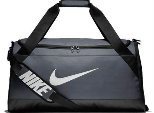 Nike Nk Brsla M Duff Açık Gri Siyah Unisex Şapka - FLO Ayakkabı(70177875)