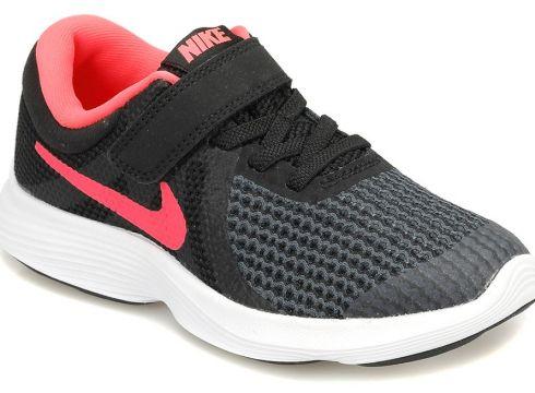 Revolution 4 Siyah/Pembe Kız Çocuk Ayakkabısı - FLO Ayakkabı(50739373)