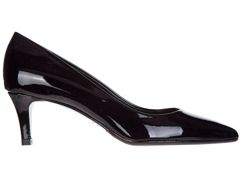 Women's leather pumps court shoes high heel(77302294)