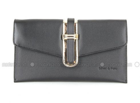 Black - Shoulder Bags - Silver Polo(110324404)