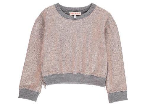 Sweatshirt aus Lurex(113612037)