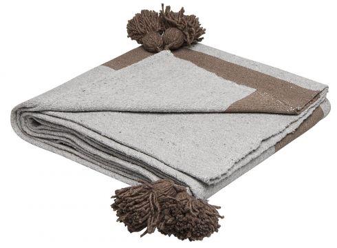 Piles Cotton Blanket Decke Beige DAY HOME(97117443)
