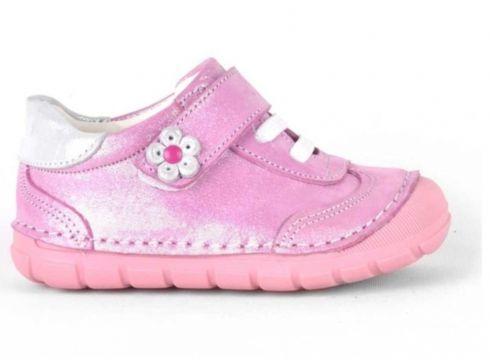 Şeker Baby Hakiki Deri Pembe Ortopedik Ilk Adım Kız Bebek Ayakkabısı(108029908)