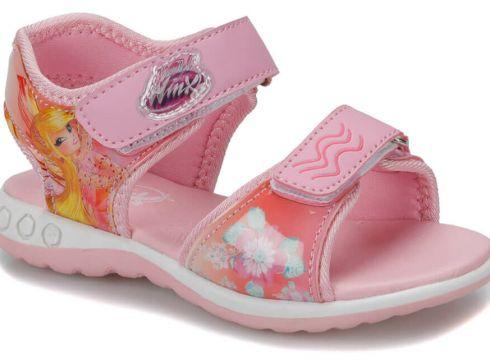 Winx 91.skins.p Pembe Kız Çocuk Sandalet - FLO Ayakkabı(81753650)