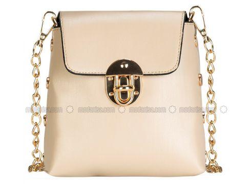 Cream - Shoulder Bags - GETCHO(110315037)