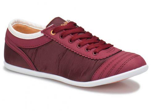 Carmens U1205 Bordo Kadın Sneaker - FLO Ayakkabı(84434273)