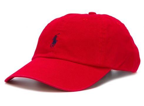 Polo Ralph Lauren casquette à logo brodé - Rouge(65455013)