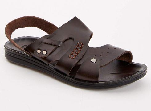 DeFacto Erkek Suni Deri Sandalet(125915137)