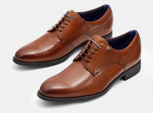 Leather Derby Shoes(109089817)