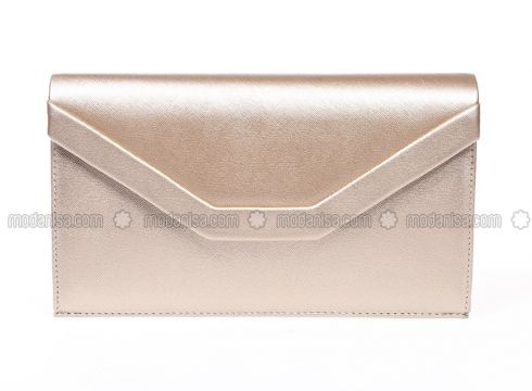 Minc - Golden tone - Clutch Bags / Handbags - Varolli(100931125)