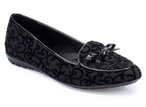 Polaris 82.312023dz Siyah Kadın Loafer Ayakkabı - FLO Ayakkabı(52092202)