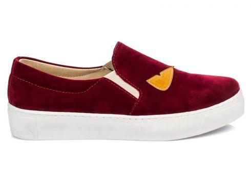 Shoes Time Bordo Kadın Ayakkabı(108514077)