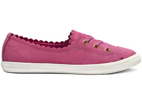 Chuck Taylor All Star Ballet Lace Low Top Gold, Pink(93565246)