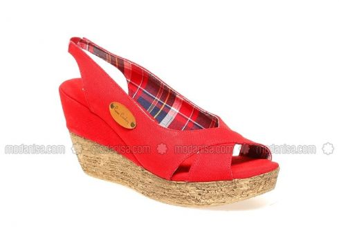 Red - Sandal - Shoes - Pierre Cardin(100924572)