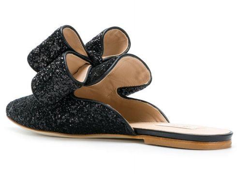 Polly Plume slippers Betty - Noir(76594350)