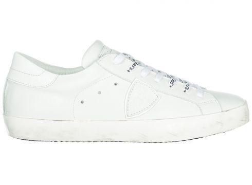 Men's shoes leather trainers sneakers paris(118070825)