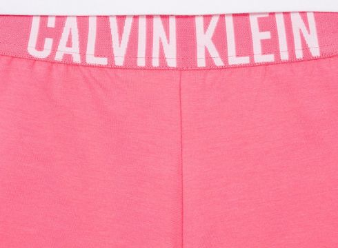 Calvin Klein Kids ensemble à t-shirt imprimé - Blanc(76618498)