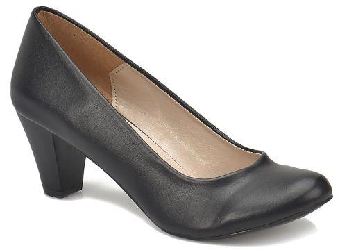 Miss F Siyah Kadın Topuklu Ayakkabı(117468395)