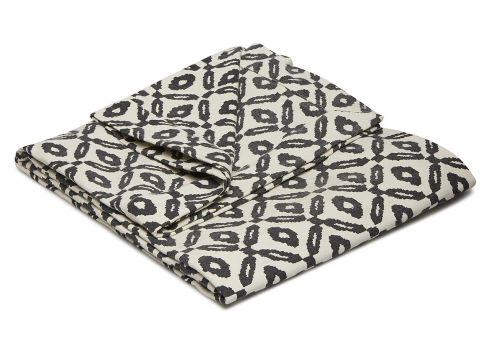 Day Printed Canvas Blanket Decke Grau DAY HOME(97117445)