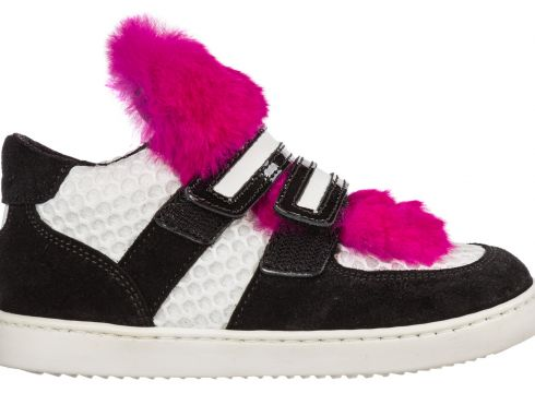 Girls shoes baby child suede leather sneakers(116936298)
