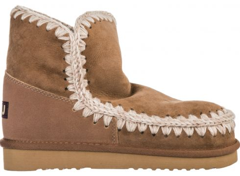Women's suede ankle boots booties eskimo 18(99831354)