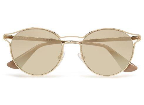Cinema Pilotensonnenbrille Sonnenbrille Gold PRADA SUNGLASSES(109242726)