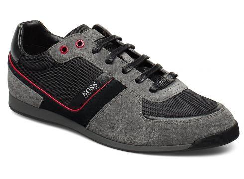 Glaze_lowp_mx Niedrige Sneaker Grau BOSS ATHLEISURE WEAR(99731996)