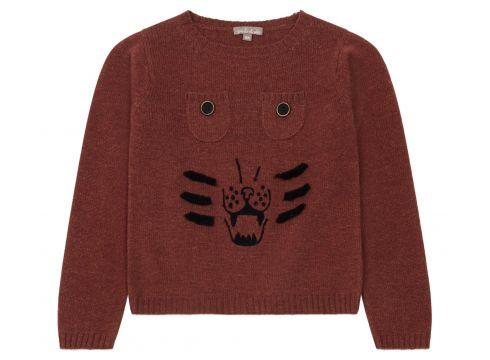 Pullover handgestrickt Tiger(117378147)