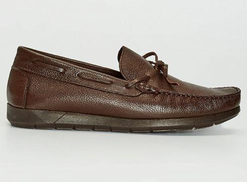 Erkek Erkek Deri Görünümlü Loafer Ayakkabı(126801749)
