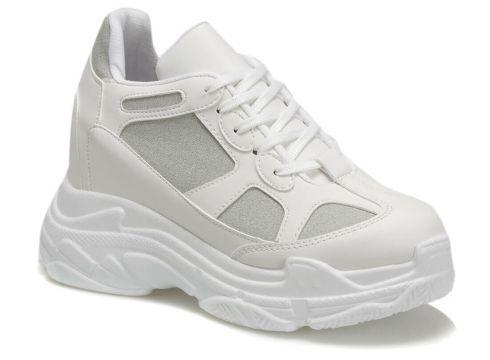 Butigo 18k-4001 Beyaz Kadın Spor Ayakkabı - FLO Ayakkabı(84482146)