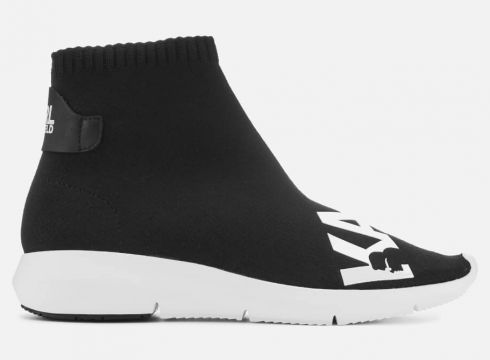 Karl Lagerfeld Women\'s Vitesse Knitted Sock Trainers - Black - UK 3 - Schwarz(80333842)