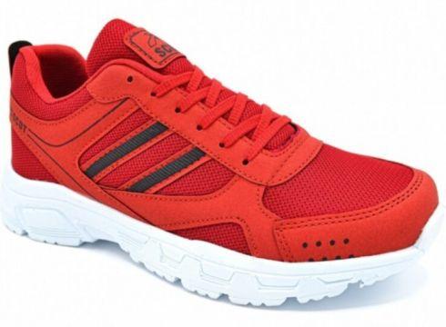Scot Erkek Kırmızı Beyaz Spor Ayakkabı Mrd 2002(110970186)
