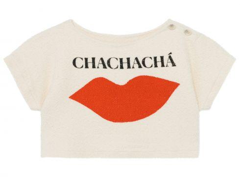 Sweatshirt Cropped Chachacha aus Bio-Baumwolle(117292572)